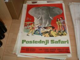 Poslednji Safari Stewart Granger, Gabriella Licudi - Posters