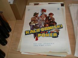 Kaliforniski Poker Eliot Guld, Dzordz Sigal - Posters