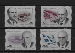 Serie De Grecia Nº Yvert 1915/18 ** - Grecia