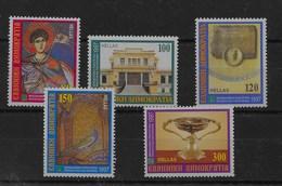 Serie De Grecia Nº Yvert 1919/23 ** - Grecia