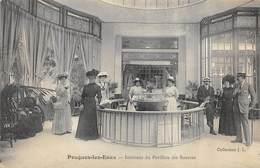 CPA 58 POUGUES LES EAUX INTERIEUR DU PAVILLON DES SOURCES - Pougues Les Eaux