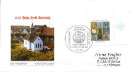 """BRD Schmuck-FDC  """"1200 Jahre Schleswig"""", Mi. 2377 ESSt 8.1.2004 BERLIN ZENTRUM - BRD"""