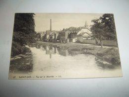 7agg - CPA N°47 - SAINT DIE - Vue Sur La Meurthe - [88] Vosges - - Saint Die
