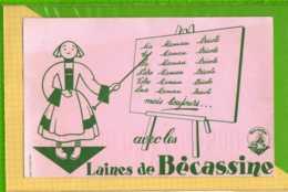 BUVARD & Blotter Paper : Laine De BECASSINE - Textile & Vestimentaire