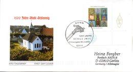 """BRD Schmuck-FDC  """"1200 Jahre Schleswig"""", Mi. 2377 ESSt 8.1.2004 BONN - BRD"""