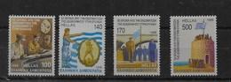 Serie De Grecia Nº Yvert 1952/55 ** - Grecia