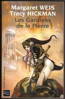 """FLEUVE-NOIR """" LES GARDIENS DE LA PIERRE """" MARGARET-WEIS/TRACY-HICKMAN  GRAND-FORMAT DE 480 PAGES - Fleuve Noir"""