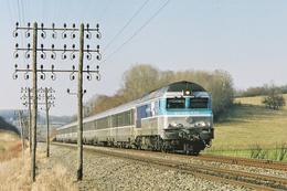 Vaivre (70) 15 Mars 2005 - La CC 72147 En Tête Du Train GL 1841 Paris/Mulhouse  Passe Près De Vaivre - France