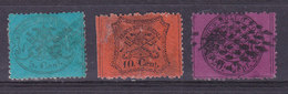 Italie, Etats Pontificaux, N° 21+22+23, Cote 47€ ( W1910/002) - Etats Pontificaux