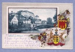 Präge-Karte .Gruß Aus Tübingen Am Neckar Gelaufen 1917.( OR 1 ) - Tübingen