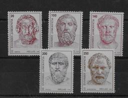 Serie De Grecia Nº Yvert 1980/84 ** - Grecia
