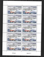 """2011 - 594**MNH - Patrouilleur""""Osiris"""",  Feuille De 10 - Unused Stamps"""