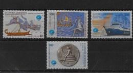 Serie De Grecia Nº Yvert 1985/88 ** BARCOS (SHIPS) - Grecia