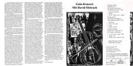 Superlimited Edition CD David Oistrach. GALA-KONZERT MIT DAVID OISTRACH. - Instrumental