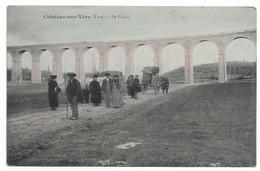 81 CAHUZAC SUR VERE Le Viaduc  Colorisée  Animée - France