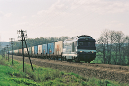 Bouhans Lès Lure (70 - France) 11 Avril 2005 - La BB 67629 En Tête D'un Train Fret Vesoul/Bantzenheim - France