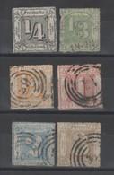 Allemagne _  Tour Et Taxis _ (1865) N° 20/25 - Tour Et Taxis