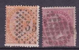 Italie, N° 15+19, Oblitéré, Cote 7€ ( W1910/006) - 1861-78 Victor Emmanuel II.