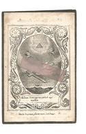 D 695. JEAN BAMPS  Veuf De M. Marguerite - °HASSELT 1776 / +LOUVAIN (Leuven) 1842 - Images Religieuses