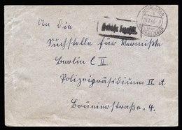 A5914) SBZ Brief Barfrankatur Hörsingen 25.02.46 N. Berlin - Sowjetische Zone (SBZ)
