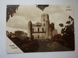 "Cartolina ""A.O.I.  Gondar  CASTELLO FASILIDES"" Foto Edizione Gilli, Gondar Anni '30 - Etiopia"