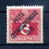 1919 CECOSLOVACCHIA Yv. 116 * - Nuovi