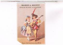 Chromos MAISON ADRIEN BRUNET PARIS  CH06 - Süsswaren