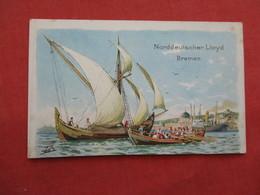 Norddeutscher Lloyd Breman-  Signed Artist --  Ref 3175 - Ships