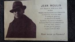 CPA JEAN MOULIN RESISTANT NE A BEZIERS MORT POUR LA FRANCE - Personnages Historiques