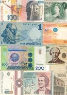 World Lot 8 Banknotes *L* - Banknoten