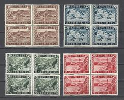 AUTRICHE.  YT   N° 629a/632a  Neuf **  1945 - 1945-60 Neufs