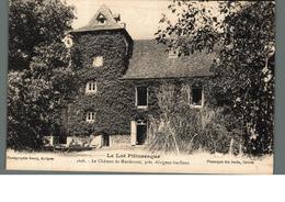 Cpa 46 Le Lot Pittoresque Le Chateau De Mordesson Près Alvignac Les Eaux  Déstockage à Saisir - France