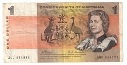 Commonwealth Of Australia 1 Dollar 1969 Phillips Randall - Emissioni Governative Decimali 1966-...