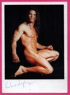 Homme Nu - Bodybuilder - Autographe - Dédicace - California Dream Men And L.A. Dance Machine - WOLFGANG BOCKSCH - Hommes