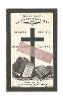 D 697. MARIA BYLOOS  Echtg. P. Vansimpsen -  °SINT-TRUIDEN 1846 En Aldaar + 1894 - Images Religieuses