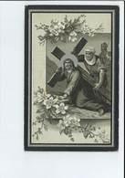 JAN FREDEGAND VAN DE MANACKER ECHTG ANNA MARIA THERESIA EYLETTERS ° DEURNE 1883 + DEUZELD ( SCHOTEN ) 1916 - Images Religieuses
