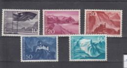 Liechtenstein Michel Cat.No. Mnh/** 381/385 - Liechtenstein