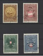 AUTRICHE.  YT   N° 773/776  Obl  1949 - 1945-60 Neufs