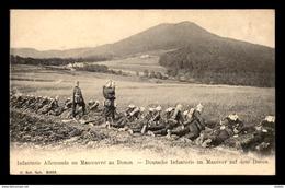 88 - LE DONON - INFANTERIE ALLEMANDE EN MANOEUVRE - France