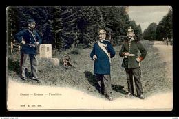 88 - LE DONON - LA FRONTIERE - DOUANIERS - France
