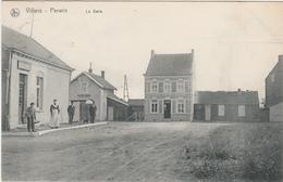 Rare! GARE Du Train Villers Perwin. Ligne 131a.  Prés De Wagnelée Et Mellet. Edit De Frasnes Lez Gosselies. Postée 1908 - Belgique
