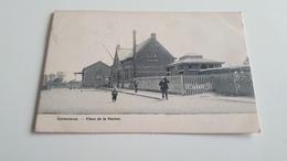 CORTEMARCK  Place De La Station Animée  Oblitérée En 1905 - Kortemark