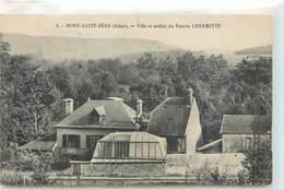 CPA 02 Aisne Mont St Père (Saint) Villa Et Atelier Du Peintre Lhermitte - France