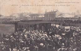 AUTUN      FUNERAILLES DE S.E. LE CARDINAL PERRAUD . 15 02 1906    N° 2 - Autun