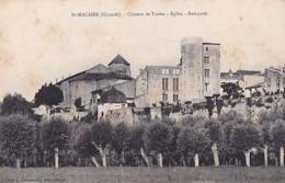SAINT MACAIRE       CHATEAU DE TARDES. EGLISE. REMPARTS - Autres Communes