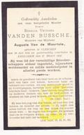 DP Rosalia V. Vanden Bussche ° Klerken Houthulst 1836 † Emelgem Izegem X August Vande Moortele - Images Religieuses