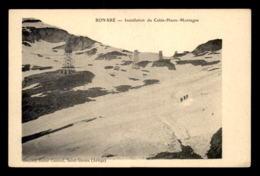 09 - BONABE - INSTALLATION DU CABLE HAUTE MONTAGNE - Frankrijk