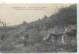 CPA 02 Aisne Laffaux Vue Anciennes Carrières Emplacement Anciennes Cuisines Boches - Militaria - Otros Municipios