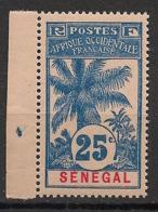Sénégal - 1906 - N°Yv. 37 - Palmier 25c - Neuf Luxe ** / MNH / Postfrisch - Ungebraucht
