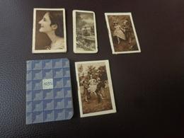 Lot De Petits Calendriers Publicite 1930-1934-1935-pub Sirop Deschiens-tessier Rochefort-jamain Casablanca - Calendriers
